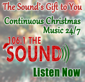 Listen to Continuous Christmas Music on 106.1 The Sound