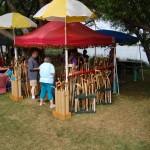 Ishpeming Art Faire and Renaissance Festival 2011 - Walking Sticks
