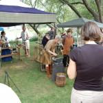 Ishpeming Art Faire and Renaissance Festival 2011 -Blacksmith Demonstration 2