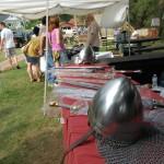 Ishpeming Art Faire and Renaissance Festival 2011 - Helmets