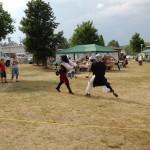 Ishpeming Art Faire and Renaissance Festival 2011 - Sword Fighting Demo
