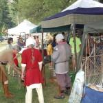 Ishpeming Art Faire and Renaissance Festival 2011 -Blacksmith Demonstration 4