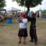 Ishpeming Art Faire and Renaissance Festival 2011 - Preparing for Costume Contest