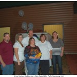 Rec Depot of Marquette Pose with Winner of Great Lakes Radio Nordic Escape Premium Hot Tub Giveaway
