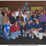 Great Lakes Radio - Rec Depot Hot Tub Giveaway Winner with Sponsors and Radio Station Crew