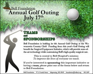 Bell Foundation of Ishpeming Announces 6th Annual Golf Outing for July 17, 2012