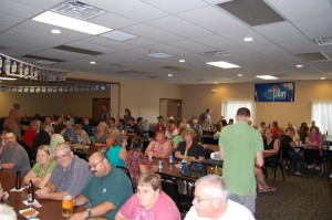 Nice Crowd at Rec Depot Game Room and Pool Table Giveaway July 12, 2012