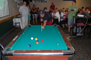 1st Finalist - Dave Wiegand of Marquette - Sunk Ball #2 - Recreation Depot Game Room and Pool Table Giveaway