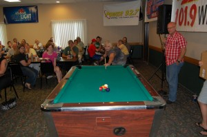 Sue Koehs (our 1st Quarter Giveaway Winner) - Becomes 2nd Finalist of Great Lakes Radio & Rec Depot Game Room Giveaway July 12, 2012