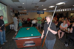 Darlene, 5th Special Shooter for a Chance at a special prize at the Rec Depot Game Room Giveaway