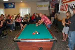 More Todd Noordyk tips for Darlene, 5th Special Shooter for a Chance at a special prize at the Rec Depot Game Room Giveaway