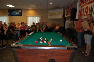 Elmer Aho - American Country Gold on WFXD - Invited To Break A Rack of Pool Balls at Rec Depot Game Room Giveaway - Ishpeming