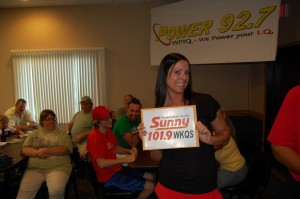 Sunny 101.9, WKQS (Amy, Great Lakes Radio Traffic Director)