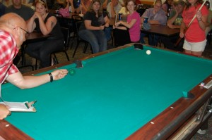 Todd Noordyk Pool Tip for Sherry Warlin - 6th Finalist - Rec Room Game Room Giveaway - Ishpeming - July 12th