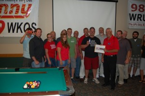 Rec Depot Game Room Giveaway Group Photo