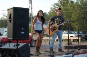 Alyssa and Joey - Skandia Days Texaco Country Showdown West Branch Recreation Center July-21, 2012