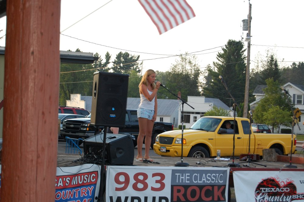 Angie Peterson - Skandia Days Texaco Country Showdown West Branch Recreation Center July-21, 2012