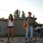 Alyssa and Joey - Winner of Skandia Days Texaco Country Showdown West Branch Recreation Center July-21st - 2012
