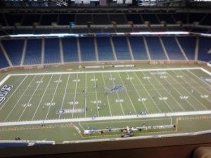 Ishpeming Hematites VS Detroit Loyola Bulldogs on the Field at Ford Field in Detroit on Saturday, November 24th, 2012 - 98.3 WRUP-FM
