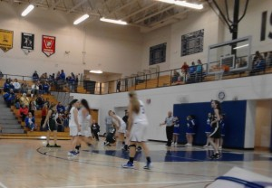 Ishpeming Hematites and the Manistique Emeralds in action tonight