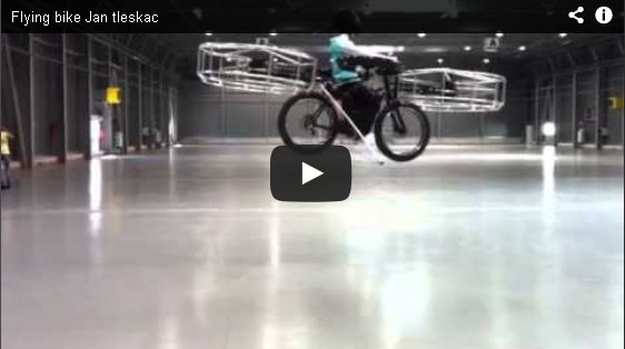 Flying Bike Demo Video