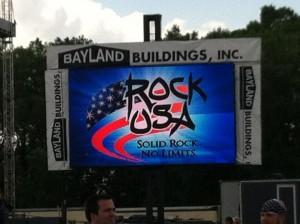 Rock USA sign