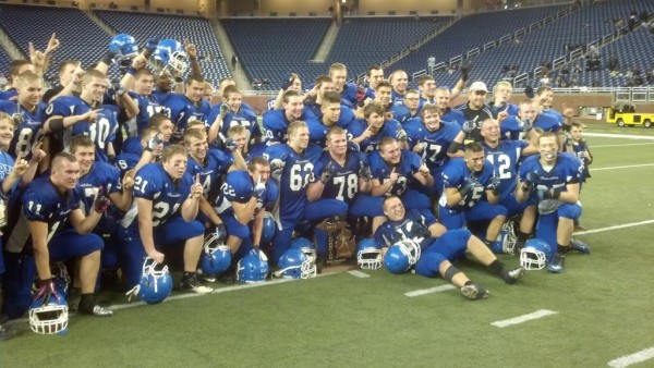 Ishpeming Hematites Ford Field Detroit Loyola Bulldogs State Champion