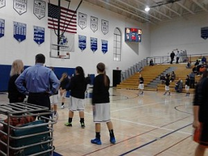 The Ishpeming Hematites girls basketball team VS the Escanaba Eskimos on 98.3 WRUP