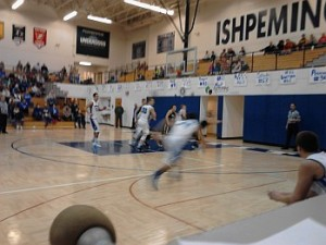 Ishpeming Hematites Boys Basketball VS Gwinn Modeltowners on 98.3 WRUP - Thursday, January 16th, 2014