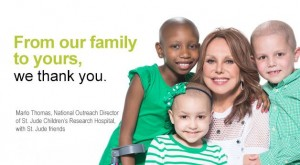 Marlo Thomas of St. Jude Children's Research Hospital