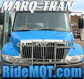 The Marq-Tran - Marquette's premier public transportation