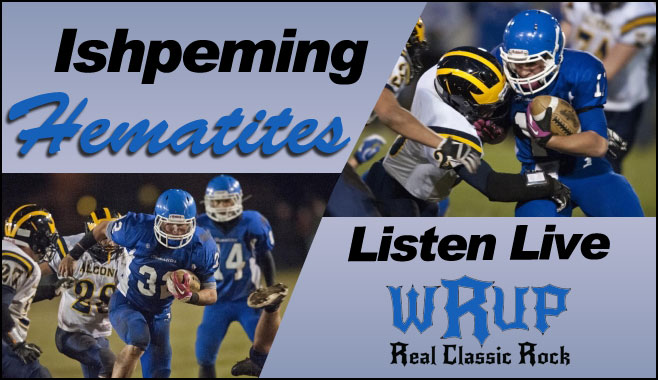 Ishpeming Hematites play on WRUP. Listen to the varsity games on 98.3 WRUP