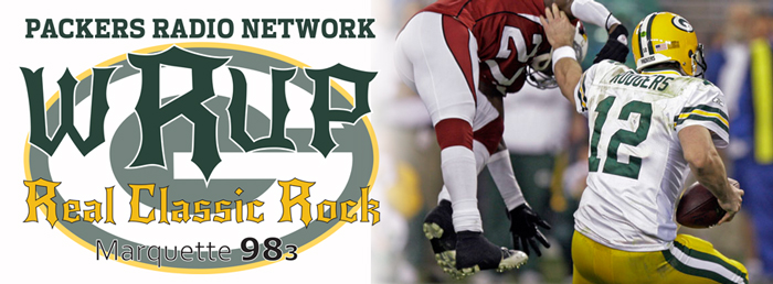 The Green Bay Packers play on WRUP. Listen to the games on 98.3 WRUP