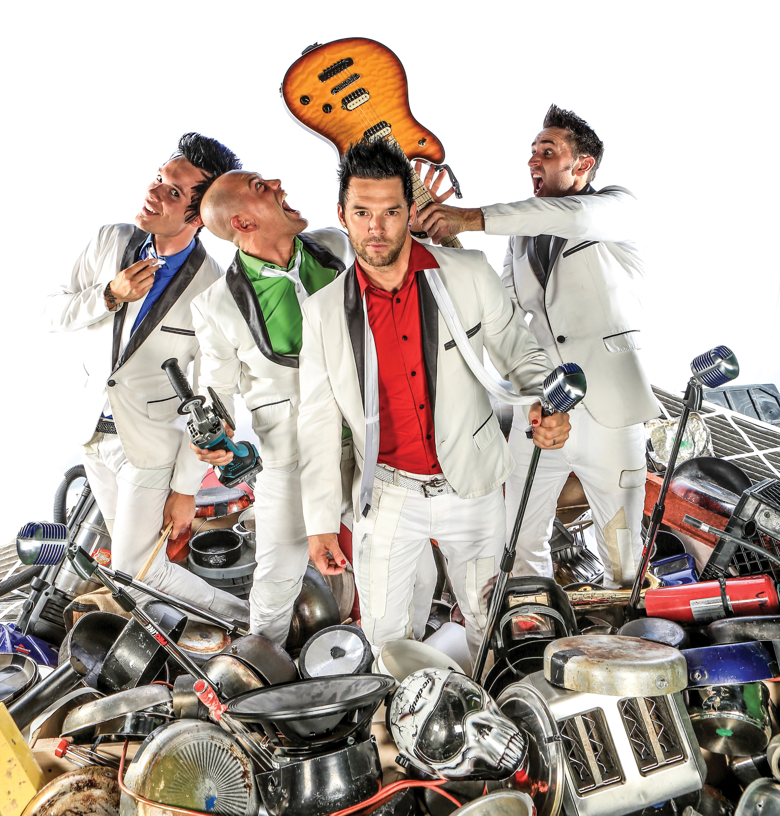 Recycled Percussion Performs live at Kewadin Casino Dream Maker's Theater