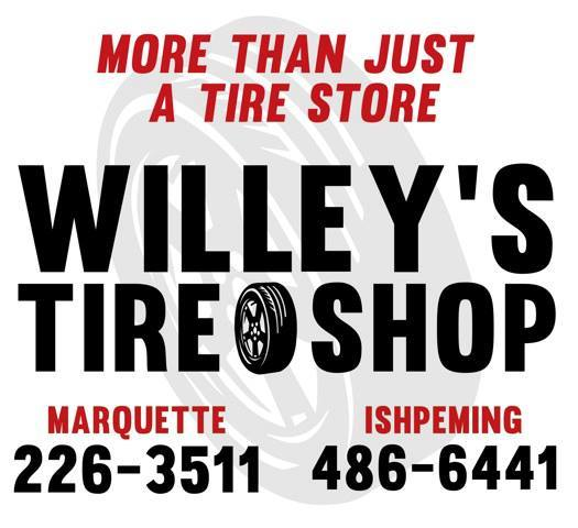 Willey's Tire Shop in Ishpeming and Marquette