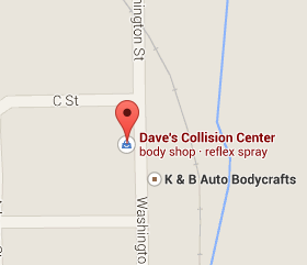 Find Daves Collision Center on Google Maps