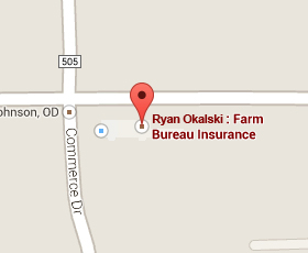 Find Farm Bureau Insurance on Google Maps