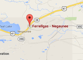 Find Ferrellgas with Google Maps