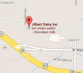 Find the Jilbert Dairy Farm Store with Google Maps