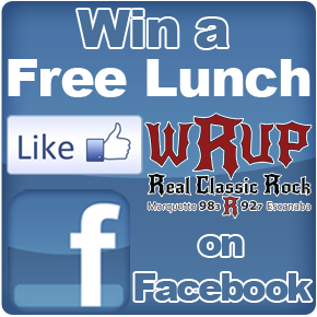 Click and like us on Facebook for a Chance to Win a Free Lunch
