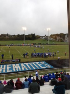 The Ishpeming Hematites defeated the Calumet Copper Kings 46-20 during Hematite Friday Night on 98.3 WRUP and WRUP.com.