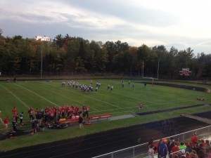 Ishpeming Hematites defeated the Westwood Patriots on 98.3 WRUP during Hematite Friday Night 38-14.