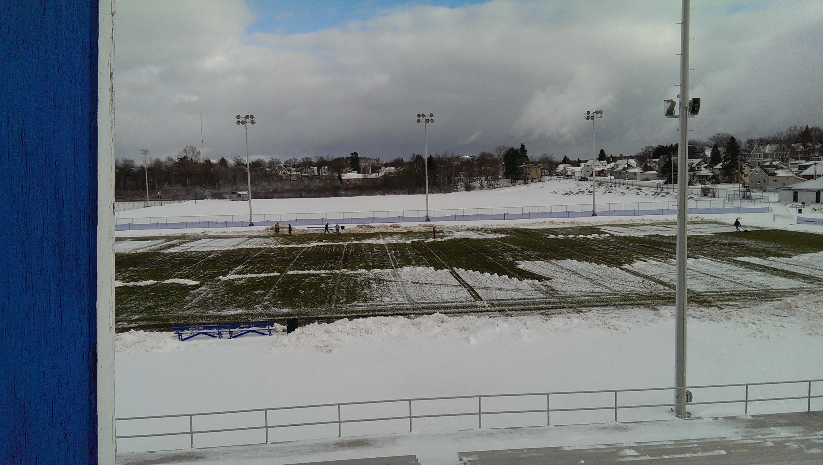 Volunteers have made it playable.