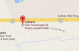 Locate Culver's with Google Maps