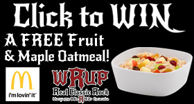 Enter to WIN FREE Fruit and Maple Oatmeal from McDonald's and WRUP