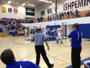 Ishpeming Hematites vs. Kingsford Flivvers January 2, 2015
