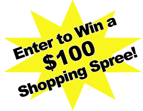 Click here! You could win a $100 shopping spree!