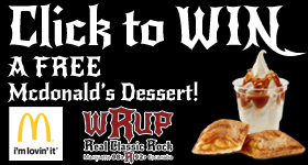 Enter to WIN a FREE Dessert from McDonald's and WRUP
