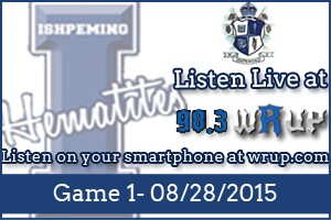 Listen to 98.3 for all of the Hematites Football Action!