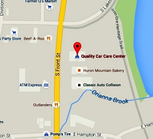 Find Quality Car Care Center on Google Maps